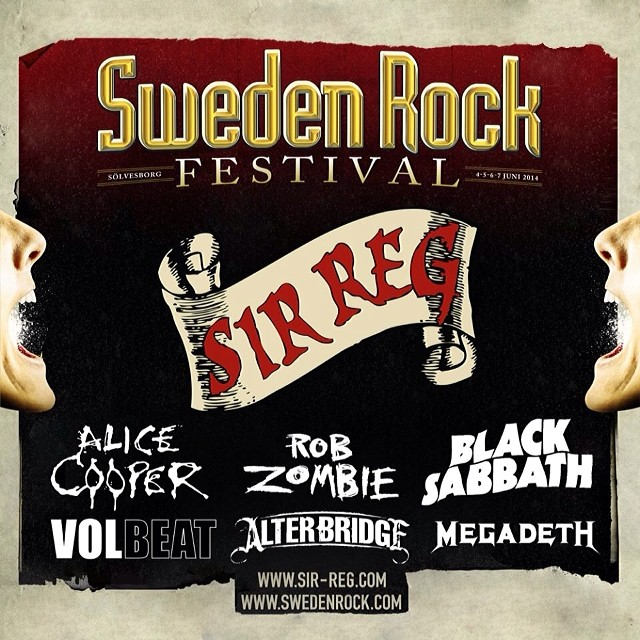 We're insanely proud to announce that we will be playing at Sweden Rock Festival this summer. #swedenrockfestival #srf