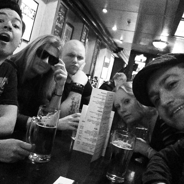 Pre-Bandit Rock Awards beer!!! #excited #banditrockawards #beer
