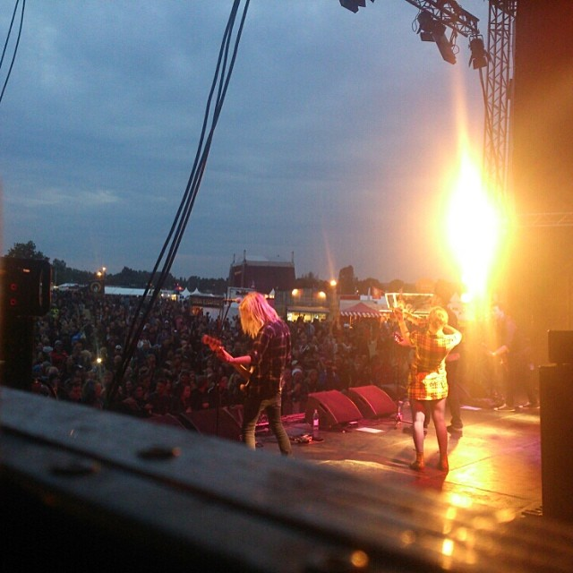 Thank you so much, Sweden rock festival!!! We fucking love you guys!!!!!!!! #sirreg #swedenrock #swedenrockfestival