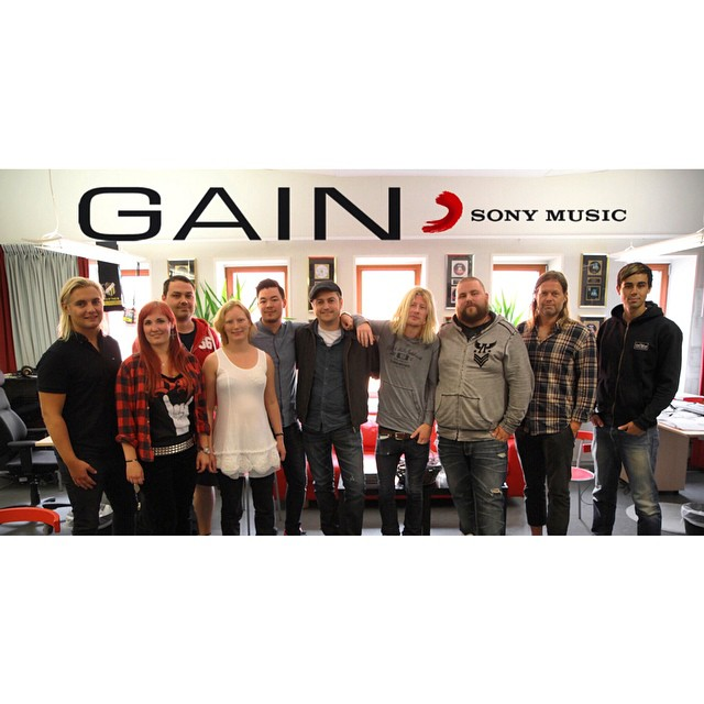 We're proud to announce that we've signed with Gain/Sony Music. http://ymlp.com/zUN6rV