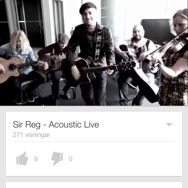 @gainmusicentertainment just posted an acoustic performance of our song Drink Up Ya Sinners on their YouTube channel. Check it out!