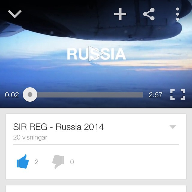 We have a new tour diary online! Check it out on YouTube! #SIRREG #russia #fiddlersgreen #paddyandtherats