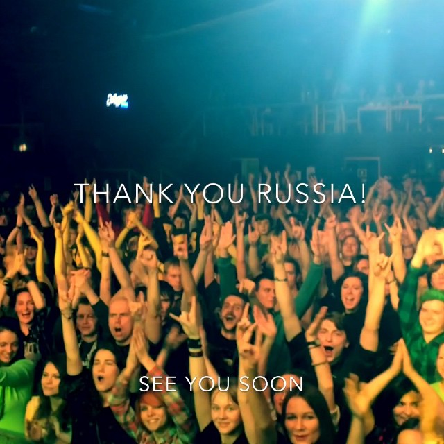 You crazy peeps in Russia made this weekend so much fun, THANK YOU! #sirreg #fiddlersgreen #paddyandtherats #clubvolta #clubzal