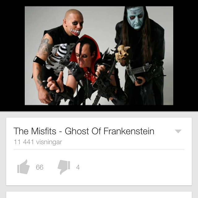 This song by The Misfits has a really cool intro and it's played by none other then our fantastic fiddler Karin m/ check it out! #themisfits #misfits #punk #sirreg