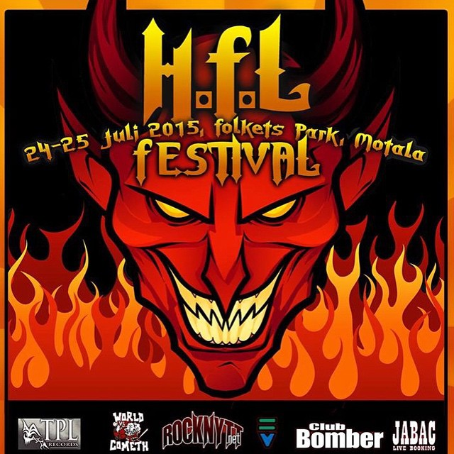 This summer in Motala (swe). See us with @lillasysterofficiell , Paul D'anno and a bunch of other awesome bands :) #sirreg