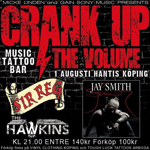 We're coming home.. to the place where it all started. Köping, Sweden. We're gonna turn Hantis into one big crazy Irish Pub along with our friends The Hawkins and Jay Smith. Grab your beer, grab your whiskey and grab your dancing shoes.. THIS is a night you don't wanna miss! #sirreg #sirregband #celtic #punk #rock #tour15 #hantis #köping #sweden