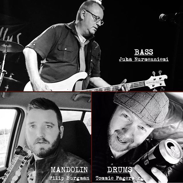 Meet the new guys in SIR REG! (plus the return of an oldie).. :) We'd like you to join us in giving a nice big welcome to our new members Tommie & Filip!! Also, we welcome back the Rickenbacker wielding warrior Juba on bass. #sirreg #celticpunk #gain #heptown #hadirajafestivalen Looking forward to ripping up the stage at Hadirajafestivalen in Knivsta Saturday evening!!!