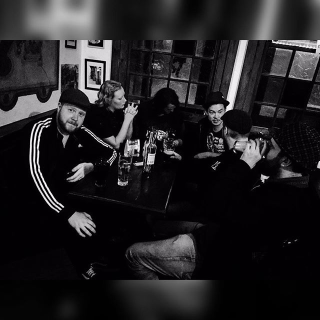 O'Carroll's, Worms. #sirregband #frenchtour #tour15 #celticpunk #madbastards #germany