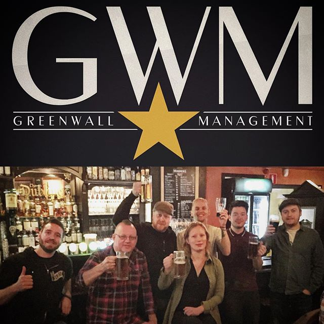 We're proud to announce that we've signed with Greenwall Management, run by the very talented Erik Grönwall. Visit www.gwmgmt.se to read more